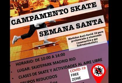 Campamento skate Semana Santa 50 Project