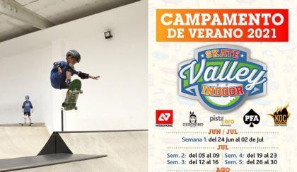 Campamento de verano organizado por Skate Valley Indoor