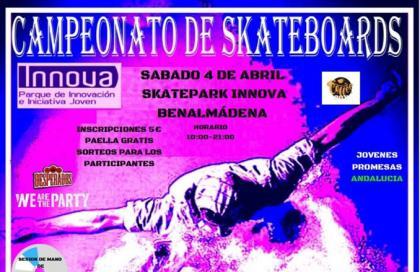 Campeonato de Skate en Benalmadena