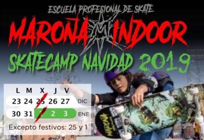 Campus de navidad Maroña Indoor Skate
