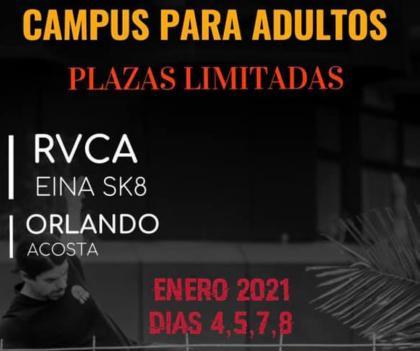 Campus de skate para adultos en Las Palmas
