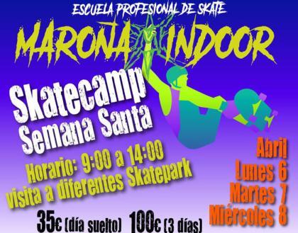 Campus de skate en Semana Santa en A Coruña