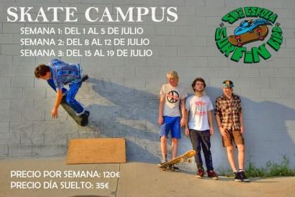 Campus Verano S.B Skate Eskola Vitoria