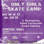 Este verano Skatecamp only girls