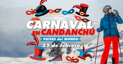 Celebra el Carnaval de paises del Mundo en Candachú