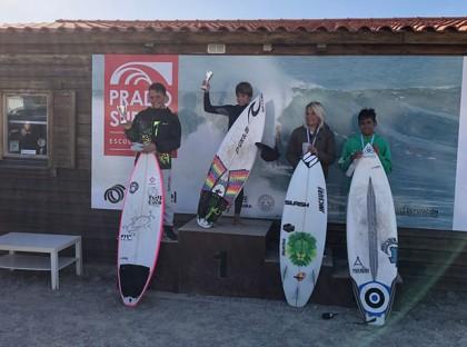 Celebrada la Copa de España de Surf