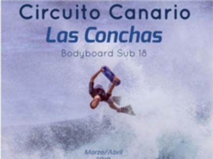 Circuito Canario Bodyboard Las Conchas 2018