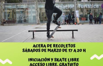 Clases de skate gratuitas en Valladolid