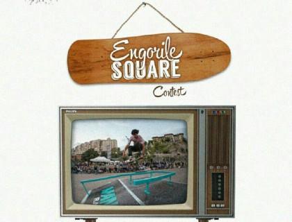 Competición de skate en el Engorile Square de Alcoy