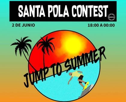 Competición en el skatepark de Santa Pola