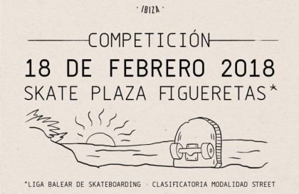Competición en el Skateplaza de Figueretas (Ibiza)