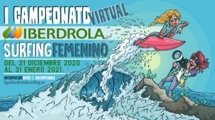 Competición Virtual Iberdrola de Surfing Femenino