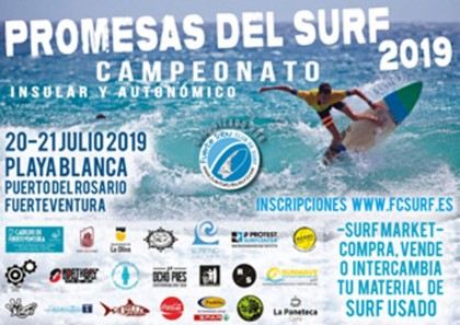 Confirmado el Circuito Canario de Surf e insular Playa Blanca