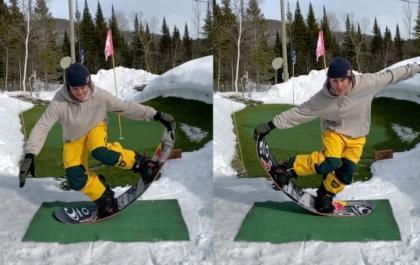 Consejos para snowboarders en cuarentena