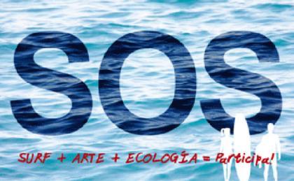 Convocatoria surf + arte + ecología este domingo