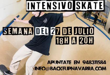 Curso intensivo de Skate en BlacjFlip Navarra