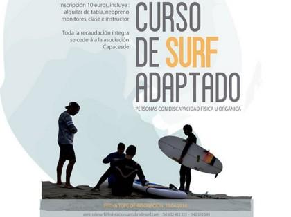 Curso de Surf Adaptado en Cantabria