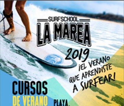 Curso de Verano. La Marea Surf Shool 2019 - Puerto de la Cruz