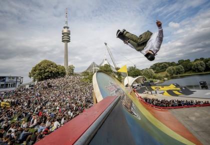 Danny León segundo en el Red Bull Roller Coaster