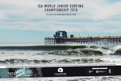 Decidida la selección del ISA World Junior Surfing Championship