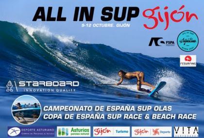 El Astursup-Campeonato España de SUP Race/Olas