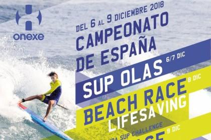 El Campeonato de España de SUP Olas y Beach Race 2018