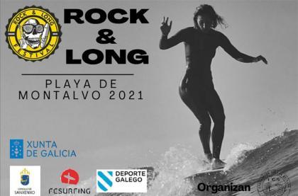 El campeonato de longboard Rock and Long en la playa Montalvo