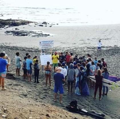 El Circuito Canario de Surfing Junior y Femenino