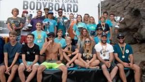 El Cto de España de Bodyboard celebrado en Gáldar
