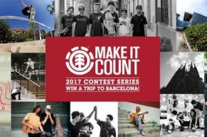 El Element Make It Count Series vuelve con nuevo formato