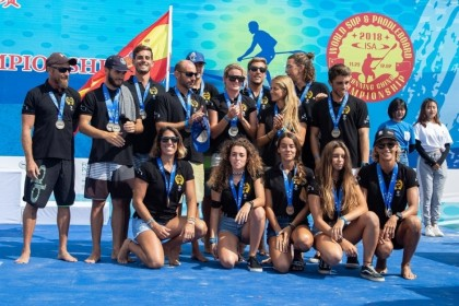 El ISA World Stand Up Paddle (SUP) and Paddleboard Championship