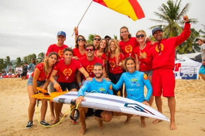 El ISA World SUP and Paddleboard Championship