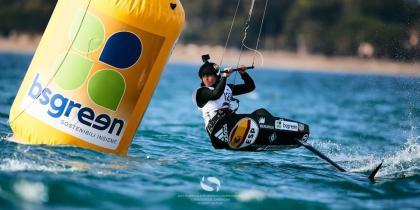 El mundial de Formula Kite con condiciones de viento justas
