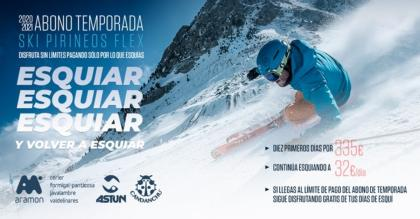 Los 10 días no gastados del Ski Pirineos Flex
