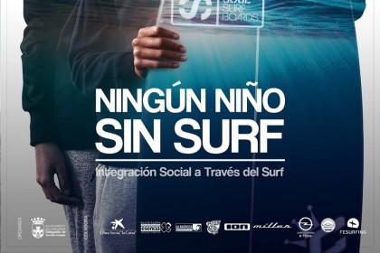 El proyecto: Ningún Niño sin Surf' arranca por segundo año