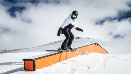 El snowpark Sulayr abre todos sus sectores