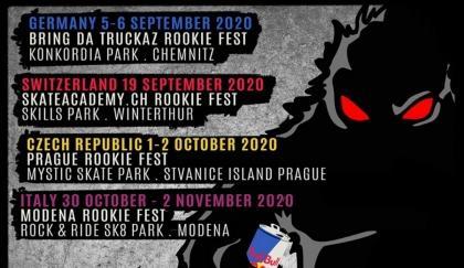 El World Rookie Tour Skateboard en marcha
