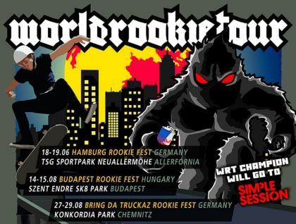 El World Rookie Tour Skateboarding 2021 en Portugal