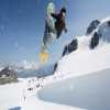 Esqui de verano en bikini y banador en Zermatt