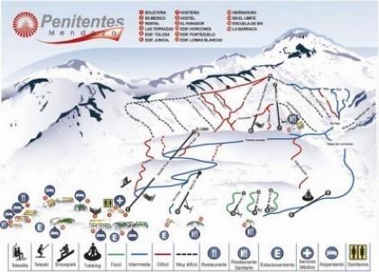 Esqui en Argentina - Penitentes