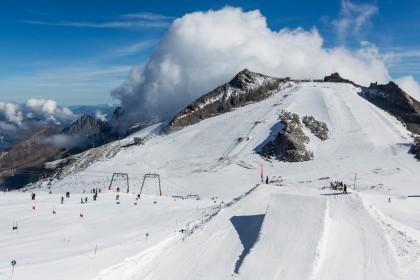 Esquiar en verano en Austria
