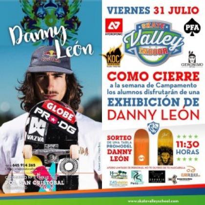 Exhibición en Skate Valley Indoor en Valladolid