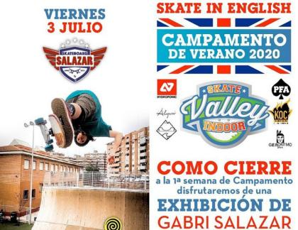 Exhibición en Skate Valley Indoor en Valladolid