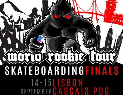 Finales mundiales de skateboarding Rookie en Cascais
