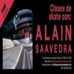 Clases de skate con Alain Saavedra en Guretxoko