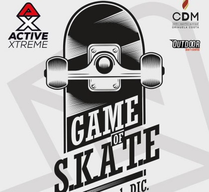 Game of SKATE en Orihuela