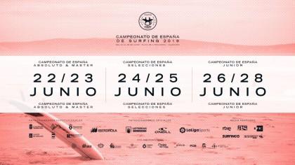 Inscripciones para el Campeonato de España de Surfing 2019