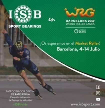 ISB en World Roller Games 2019