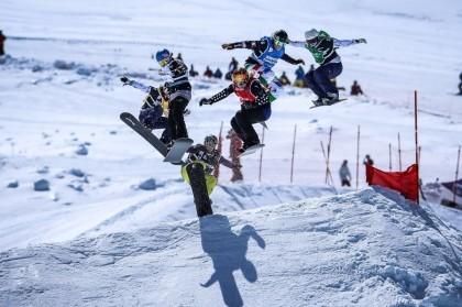 La Copa del Mundo de Snowboardcross llega a Sierra Nevada