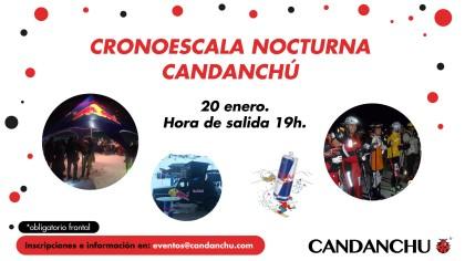 La cronoescala nocturna de Candanchú